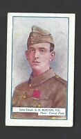 GALLAHER - THE GREAT WAR, VC HEROES, 8TH - #193 A S BURTON