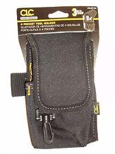 Custom Leather Craft 1104 Multi-Purpose Tool Holder 4 Pocket (E32S)