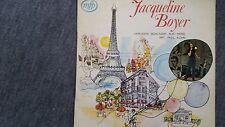 Jacqueline Boyer - Verliebte Schlager aus Paris LP