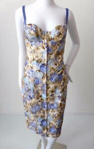 PHILOSOPHY DI ALBERTA FERRETTI Sleeveless Dress NWT rrp $1135 Size 10 US 6 IT 42