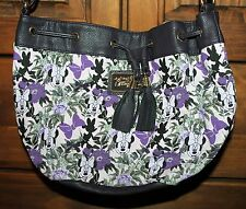 DISNEY PARKS BOUTIQUES Minnie Purse Purple Flowers NWT (see shipping options)