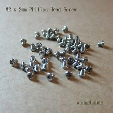 M2 x 2mm Philips Head Screw - 50 pcs