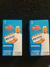 Two pack of mr clean magic eraser (2 pads)