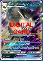 1X Alolan Raticate GX 85/168 Celestial Storm Pokemon TCG Online Digital Card