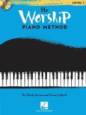 THE WORSHIP PIANO METHOD PLAY ALONG SHEET MUSIC SONG BOOK W/CD