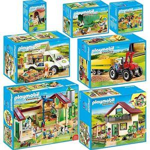 PLAYMOBIL Country AUSWAHL Bauernhof Trecker Bauer Traktor