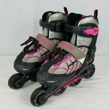 Schwinn Challenge Series Abec-5 Inline Skates Adjustable sizes 1-4 Pink/Gray