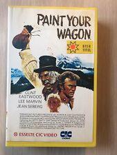 Paint Your Wagon Ex-Rental Big Box VHS Tape English dutch subs Video
