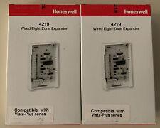 4219 HONEYWELL SECURITY ADEMCO ALARM WIRED 8 ZONE EXPANDER VISTA PLUS 2 LOT