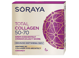 SORAYA TOTAL COLLAGEN FACE CREAM CONCENTRATE THICKENING THE SKIN NIGHT 50 - 70