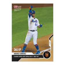 2020 Topps Now Andres Gimenez NY Mets RC Call Up #30 Only 926 Made IN HAND