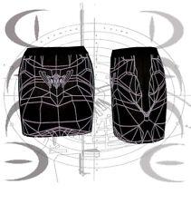 DANE WIREFRAME mini CYBER GOTH CLUBWEAR Podium miniskirt CYBER Bladerunner Rave