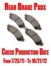 Rear Semi-Metallic Brake Pads F-250 2008-2012 F-350 2008-2010 Super Duty ONLY!!!
