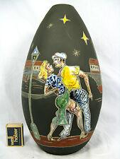 "Rare 50´s Keto Keramik Hans Welling Design Vase ""Montmartre"" 1014 #  912 31,5 cm"