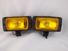 "CHEVROLET 5.5"" AMBER YELLOW FOG LIGHTS UNIVERSAL CAR TRUCK SUV"