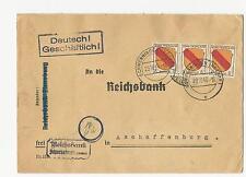 Ungeprüfte Mehrfachfrankatur Allgemeine Briefmarken-Ausgaben der französischen Zone (ab 1945)