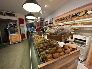 Ladentheke , Bäckerei Einrichtung Brotregal , Selbstabbau