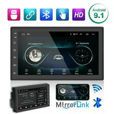 """7"""" Android 9.1 Autoradio 2 Din HD Car Stereo Radio Touch Screen USB AUX WiFi MP5"""