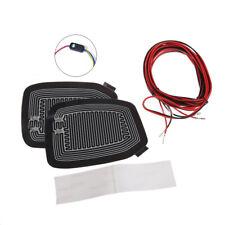 Quick Warm 12V Car Side Mirror Glass Heater Defogger Heated Pad Mat Accessories