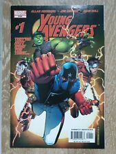 Young Avengers 1 Marvel 2005 first appearance of Kate Bishop Hawkeye and Patriot