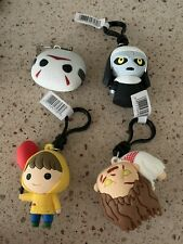 Horror Properties Figural Bag Clip Series 4 Set Of Four It Friday The 13th