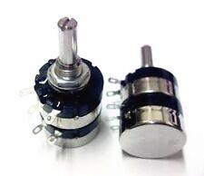 5PCS RV24YG 20S B503  Cosmos Tocos Dual Potentiometer 15A503 A50kΩx2 50K 24mm