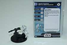 Snowtrooper with E-Web Blaster #17 Rare Battle of Hoth Pack Star Wars Miniatures