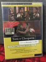Totò e Cleopatra (1963) DVD Nuovo Sigillato Toto' Moira Orfei Sportelli Cerchio