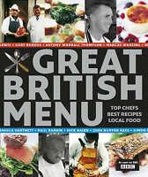 Various, Great British Menu - traditional recipes, Hardcover, Very Good Book