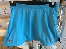 BABOLAT Tennis Athletic GIRLS  Skirt SIZE SMALL  S WITH Under Shorts AQUA BLUE