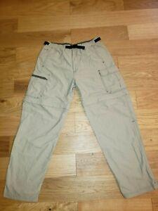REI Co-op Sahara Convertible Hiking Pants Nylon Mens Size M/30 UPF 50+