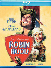 The Adventures of Robin Hood (Blu-ray Disc, 2008) - NEW!!