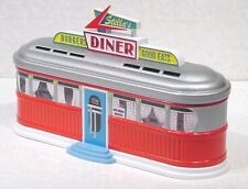 STELLA'S DINER TIN CONTAINER Embossed Metal 50's Deco Vintage 1988 Boxed NOS
