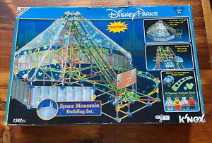 2010 KNEX Disney Parks Space Mountain Roller Coaster Building Set