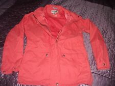 Orange Regatta Concealed Hood Jacket Size 14, Waterproof Fabric