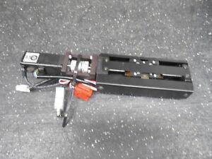 NSK MCMO3 57mm TRAVEL LINEAR SLIDE & YASAKAWA AC SERVO MOTOR