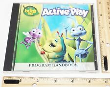 DISNEY'S A BUG'S LIFE - ACTIVE PLAY PC COMPUTER CD VIDEO GAME 1998 USED
