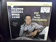 Ernest Tubb and His Texas Troubadours LP Vocalion STEREO VG+