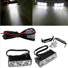 2x Super Bright 18W 3LED Daylight Running Light Daytime Driving Light Grille DRL