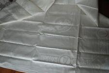 Gorgeous Vintage Double Damask Irish Linen Tablecloth 87 x 70 NWT