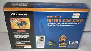 Linksys EtherFast 10/100 LAN Card Adapter LNE100TX Ver. 5.1 new