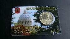 VATIKAN / VATICAN 2011  50 CENT   COINCARD