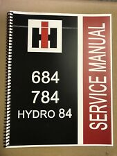 Hydro 84 International Harvester Tractor Technical Service Shop Manual FASTSHIP!