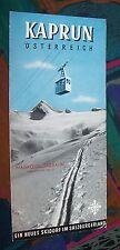 KAPRUN - Skidorf Salzburger im Land Österreich # Reise-Werbung Prospekt