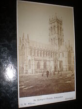 Cdv photograph St George's Church Doncaster by Wilson at Aberdeen c1870s