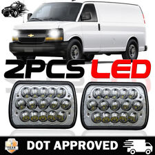 "7x6"" LED Headlight Sealed Headlamp for Chevy Express Cargo Van 1500 2500 3500"