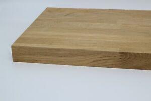 40 mm Eiche Massivholzplatte Tischplatte keilverzinkt Wunschzuschnitt kostenfrei