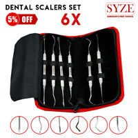 Dental Implant Scalers Kit 6 Pcs Double Ended Periodontal Instruments UK Store