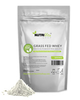 10lb 100% Pure Whey Protein Isolate 90% Grass Fed USDA Certified (Unflavored)