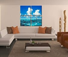Canvas Print Painting Picture Home Decor Wall Art Nature Framed Vintage Ocean